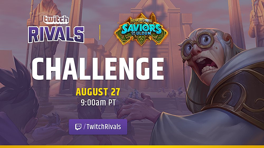 Twitch Rivals: Hearthstone Team Arena Challenge